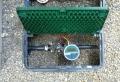 電池式,電磁弁,水やり自動