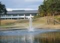 大型噴水 水に浮かべる噴水 AC100V用噴水
