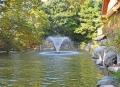 噴水 ゴルフ場大型噴水 簡単噴水 屋外噴水