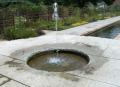 公園の噴水 多彩な噴水ノズル