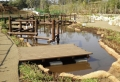 ポンドシート 池  簡単施工