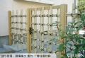 和風庭園フェンス,楽塀ユニット5型,真竹,寺社