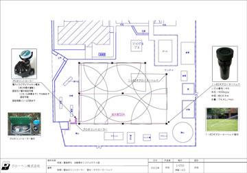 校庭緑化モデル図面01