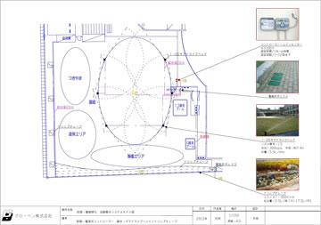 校庭緑化モデル図面02